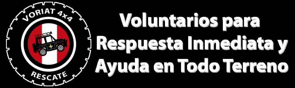 Voriat 4x4 - Voluntarios para Respuesta Inmediata y Ayuda en Todo Terreno